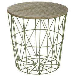 Okrągły stolik kawowy, stolik do kawy, stolik do salonu, stolik do pokoju, stolik kosz, stolik metalowy, nowoczesny stolik, stół (3560239290049)