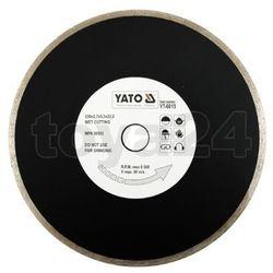Yato Tarcza diamentowa, segment ciągły, 230 mm / yt-6015 /  - zyskaj rabat 30 zł (5906083960154)