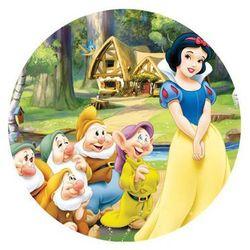 Dekoracyjny opłatek tortowy princess - księżniczki - 20 cm - 8 marki Modew