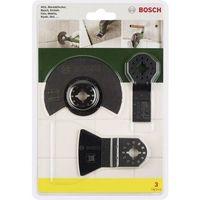 Zestaw akcesoriów do multinarzędzia, 3 szt., Bosch 2607017324, Pasuje do marki (multinarzędzia) Fein, Makit