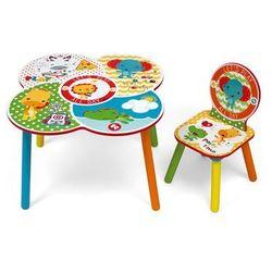 Krzesełko + stolik fisher price marki Arditex