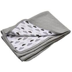 Lodger Mały koc pikowany  dreamer - grey (75x100)