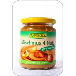 : mus z 4 orzechów bio - 250 g, marki Rapunzel