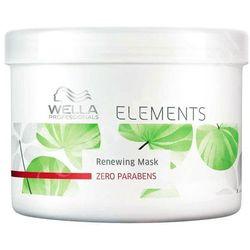Wella Elements - odżywcza maska do każdego rodzaju włosów 500ml z kategorii Odżywianie włosów