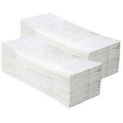 Ręcznik składany z-z estetic biały 4000 składek marki Cliver