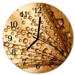 Zegar ścienny okrągły Dmuchawiec