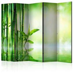 Parawan 5-częściowy - Bambusowy gaj II [Room Dividers]