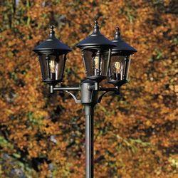 3-punktowa latarnia VIRGO, czarny mat (7318305737501)