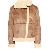 American Outfitters Kurtka ze skóry ekologicznej brown