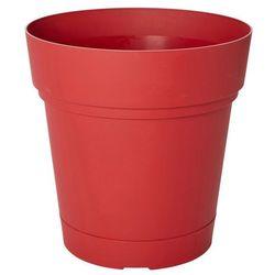 Donica okrągła Blooma Nurgul z nawadnianiem 58 cm czerwona