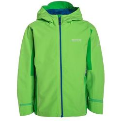 Regatta HIPOINT II Kurtka hardshell green flash/fairway, kolor zielony