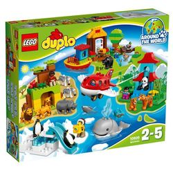 Lego Duplo DOOKOŁA ŚWIATA (Around the World) 10805 z kategorii: klocki dla dzieci
