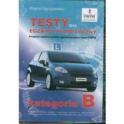 Prawo jazdy 2014 Testy kat B DVD, książka w oprawie miękkej