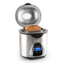 Klarstein City life automat do pieczenia chleba 580 watów 900g akcesoria stal nierdzewna