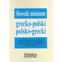 Słownik Minimum Grecko Polski, Polsko-Grecki (ilość stron 312)
