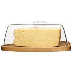 Sagaform - nature - deska do sera z pokrywą