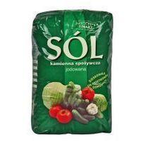Sól kamienna jodowana spożywcza 1 kg Kłodawa