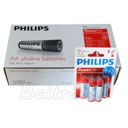 72 x bateria alkaliczna philips powerlife lr6/aa od producenta Panasonic