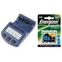 ładowarka BC-1000 (następca BC-900) + 4 x akumulatorki R6 AA Energizer 2300 Extreme (blister) - sprawdź w w