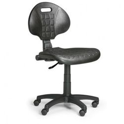 Krzesło pur, stały kontakt, do twardych podłóg marki B2b partner