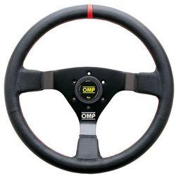 Kierownica OMP WRC czerwone obszycie skóra z kategorii Kierownice sportowe