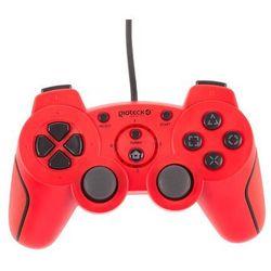 Gamepad GIOTECK VX-2 (PS3) Czerwony, towar z kategorii: Akcesoria do PlayStation 3
