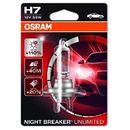 h7 12v 55w px26d night breaker® unlimited (do +110% więcej światła, do 35m-40m dłuższy zasięg,do +20% bielsze światło) marki Osram