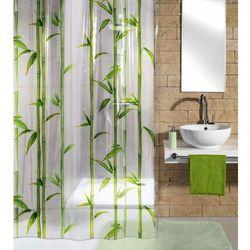 Kleine wolke zasłona łazienkowa bambu, 180×200 cm, zielona (4004478241046)