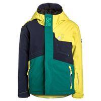 Dare 2B ROUSE UP Kurtka narciarska peacoat/neon spring/alpine forest (5051522546649)