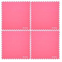 Insportline Mata fitness  eva40 200 x 200 cm do ćwiczeń - kolor czerwony, kategoria: materace, maty, karimat