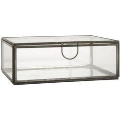Ib Laursen - Szklane pudełko Altum z uchwytem średnie