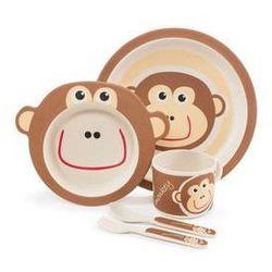 Bambusowy zestaw naczyń monkey marki Zopa