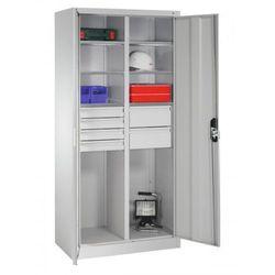Metalowa szafa warsztatowa - różne wymiary. Skarbczyk i 6 szuflad., 8921-3041