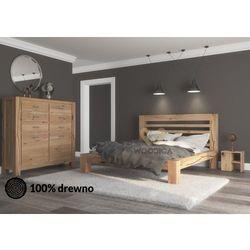 Woodica Łóżko dębowe syringa 05 160x200