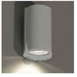 Kinkiet LAMPA ścienna OZU 4403/GU10/SZ Shilo minimalistyczna OPRAWA okrągła szary