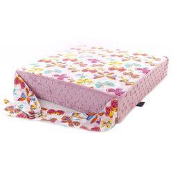Cuddly Zoo, Motyle, Dusty Rose, poduszka podwyższająca, towar z kategorii: Dekoracje i ozdoby dla dzieci
