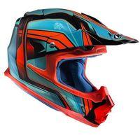 KASK HJC FX-CROSS PISTON BLUE/RED