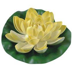Greenmill Lilia wodna z gąbki fi 19 cm żółta (5904842672324)