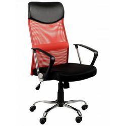 Fotel biurowy gabinetowy ZH-935/TILT/CZERWONY, ZH-935/CZERWONY