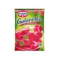 Dr. oetker Galaretka o smaku malinowym 77 g  (5900437034126)