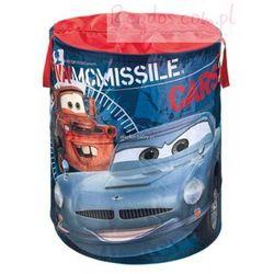 Kosz na zabawki okrągły Cars Auta z kategorii Pojemniki na zabawki