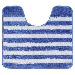 Sealskin dywanik łazienkowy strisce blue kontur 50x45cm 294388424 (8717821444624)