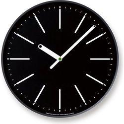 Zegar ścienny dot czarny marki Lemnos