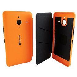 Flip cover  cc-3090 pomarańczowy do lumia 640 xl - pomarańczowy wyprodukowany przez Microsoft