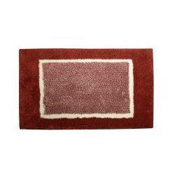 ATHENA Dywanik łazienkowy 50x85cm poliakryl, czerwony AT002