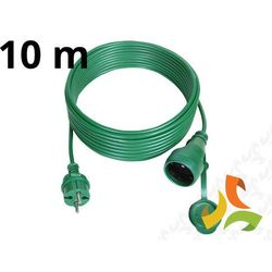 Przedłużacz choinkowy hermetyczny 10m IP44 zielony PS-160IP44 - ABEX, PS-160IP44/10m/ZIELON/ABX