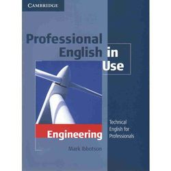Professional English in Use Engineering with Answers (Cambridge University Press)