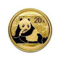 1/20 Uncji Chińska Panda - Złota Moneta Bulionowa Rocznik 2015