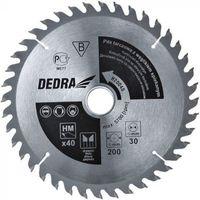 Tarcza do cięcia DEDRA H14024D 140 x 12.75 mm do drewna (5902628814906)