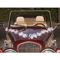 Ap Girlandy tiulowe pompony białe - 2 m - 3 szt. (5901157463692)